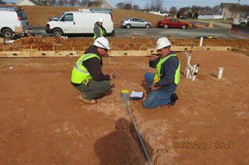 Polk Electric - Setting Boxes to Pour Concrete